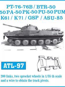 Friulmodel PT-76 - 76B / BTR-50 - 50P - 50PA - 50PK - 50PU - 50PUM / K-61 / K-71 / GSP - Tr