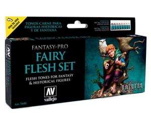 Vallejo Game Color - Fairy Flesh set