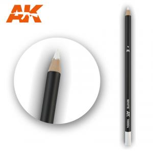 AK Interactive Watercolor Pencil White