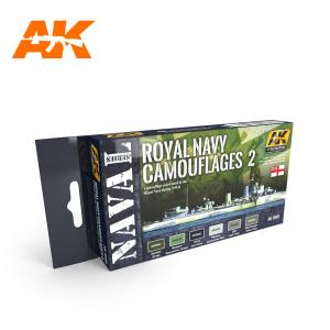 AK Interactive ROYAL NAVY CAMOUFLAGES 2