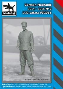 Black Dog German Mechanic 1914-1918 No.2