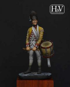 Heroes & Villains Drummer 27 Regiment 1775 54mm