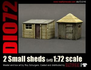 Reality in Scale Small sheds #1