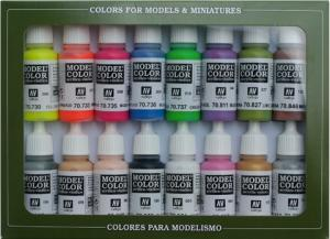 Vallejo Model Color Set - Wargame Special (x16)