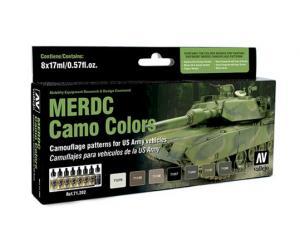Vallejo Model Air - MERDC Camo Colors