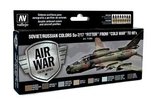 "Vallejo Model Air - Soviet/Russian Colors SU-7/17 ""FITTER"""