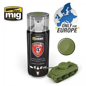 Ammo Mig Jimenez Military Green Matt Primer