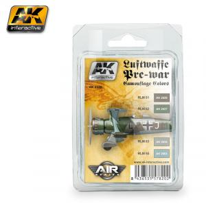 AK Interactive LUFTWAFFE PRE-WAR CAMOUFLAGE COLORS