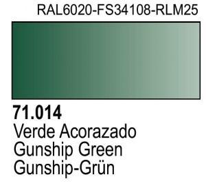 Vallejo Model Air 014 - Gunship Green