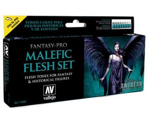 Vallejo Game Color - Malefic Flesh set