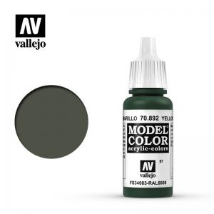 Vallejo Model Color 087 - Yellow Olive