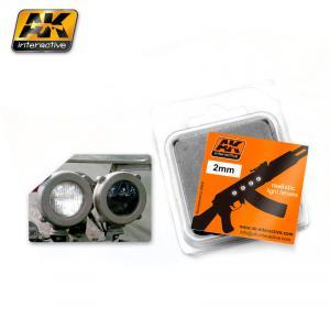 AK Interactive WHITE 2mm