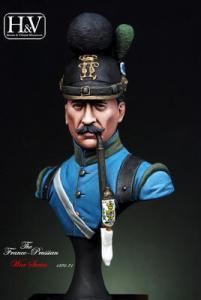 Heroes & Villains Trooper Bavarian Jager 1870 1/16