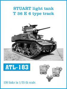 Friulmodel Stuart Light Tank T36E6 - Track Links