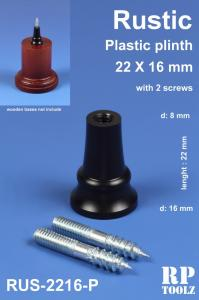 RP Toolz Plinth, Rustic 22 x 16 mm, Plastic