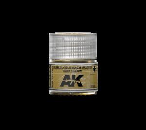 AK Interactive Dunkelgelb Nach Muster Dark Yellow 10ml