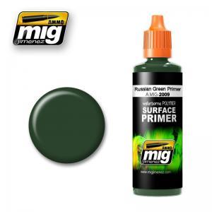 Ammo Mig Jimenez Russian Green, Primer 60ml.