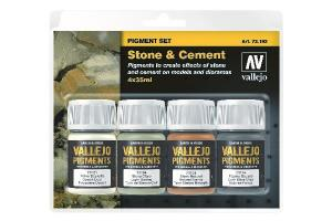 Vallejo Pigment set (Stone and Cement)