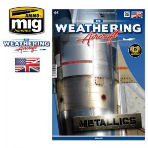 Ammo Mig Jimenez The Weathering Aircraft, #5, Metallics