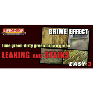 LifeColor Leaking and stains - Grime effect
