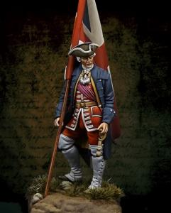 Michael Kontraros Mortal Enemies Culloden English Officer 75mm