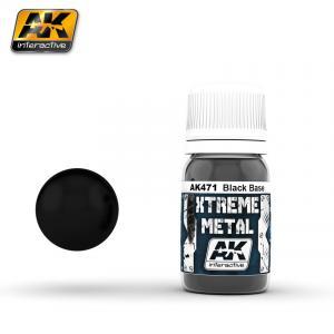 AK Interactive XTREME METAL BLACK BASE