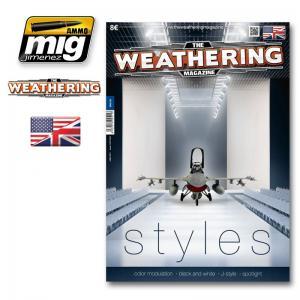 Ammo Mig Jimenez The Weathering Magazine #12, Styles.
