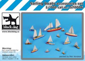 Black Dog Sailing Boats Accessories Set