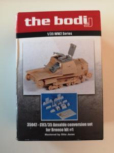 Bodi CV3/35 Ansaldo conversion set for Bronco kit #1
