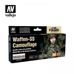 Vallejo Model Color Special Set - Waffen-SS Camouflage (x8)