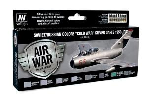 "Vallejo Model Air - Soviet/Russian Colors ""Cold War"""