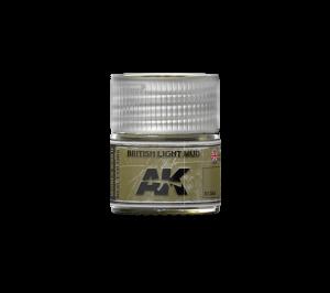 AK Interactive British Light Mud 10ml