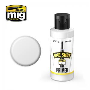 Ammo Mig Jimenez One Shot Primer – White, 60ml