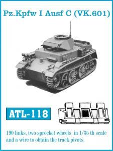 Friulmodel Pz.Kpfw I Ausf C (VK.601) - Track Links