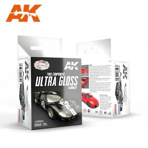 AK Interactive TWO-COMPONENTS ULTRA GLOSS LAQUER