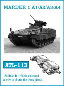 Friulmodel ARCHER Self-Propelled Gun - Track Links