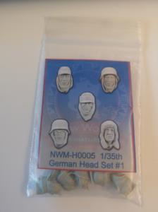 New World Miniatures 5 heads - german #1