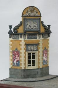"Reality in Scale ""Villa Palladio"" incl. decals, stained glass window, wallpaper, carpet, ena"