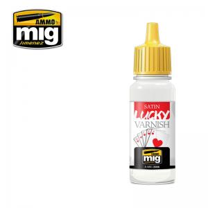 Ammo Mig Jimenez Satin, Lucky Varnish, 17ml