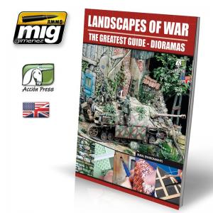 Ammo Mig Jimenez Landscapes of War: The Greatest Guide - Dioramas vol. 3, Rural Environments