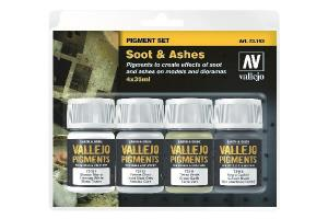 Vallejo Pigment set (Soot and Ashes)