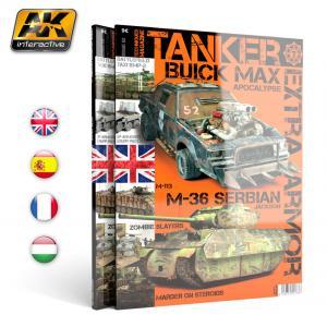 "AK Interactive TANKER 02 ""EXTRA ARMOR"" - English"