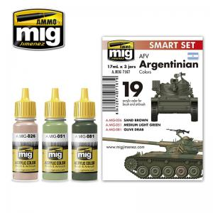 Ammo Mig Jimenez AFV Argentinian Colors