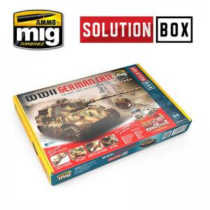 Ammo Mig Jimenez WWII GERMAN LATE SOLUTION BOX