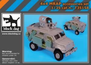 Black Dog 4x4 MRAP accessories set