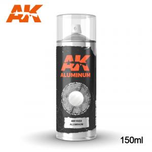 AK Interactive Aluminum - Spray 150ml