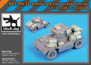 Black Dog AEC Mk.II armoured car accessories set