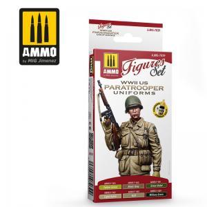 Ammo Mig Jimenez WWII US PARATROOPERS UNIFORMS
