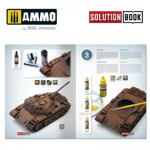 Ammo Mig Jimenez How to Paint Realistic Rust SOLUTION BOOK MULTILINGUAL BOOK