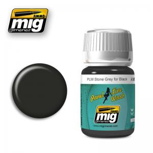 Ammo Mig Jimenez PLW STONE GREY FOR BLACK